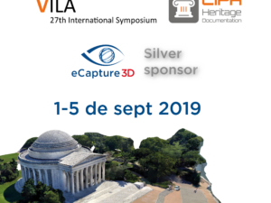 eCapture3D will be silver sponsor on CIPA 2019